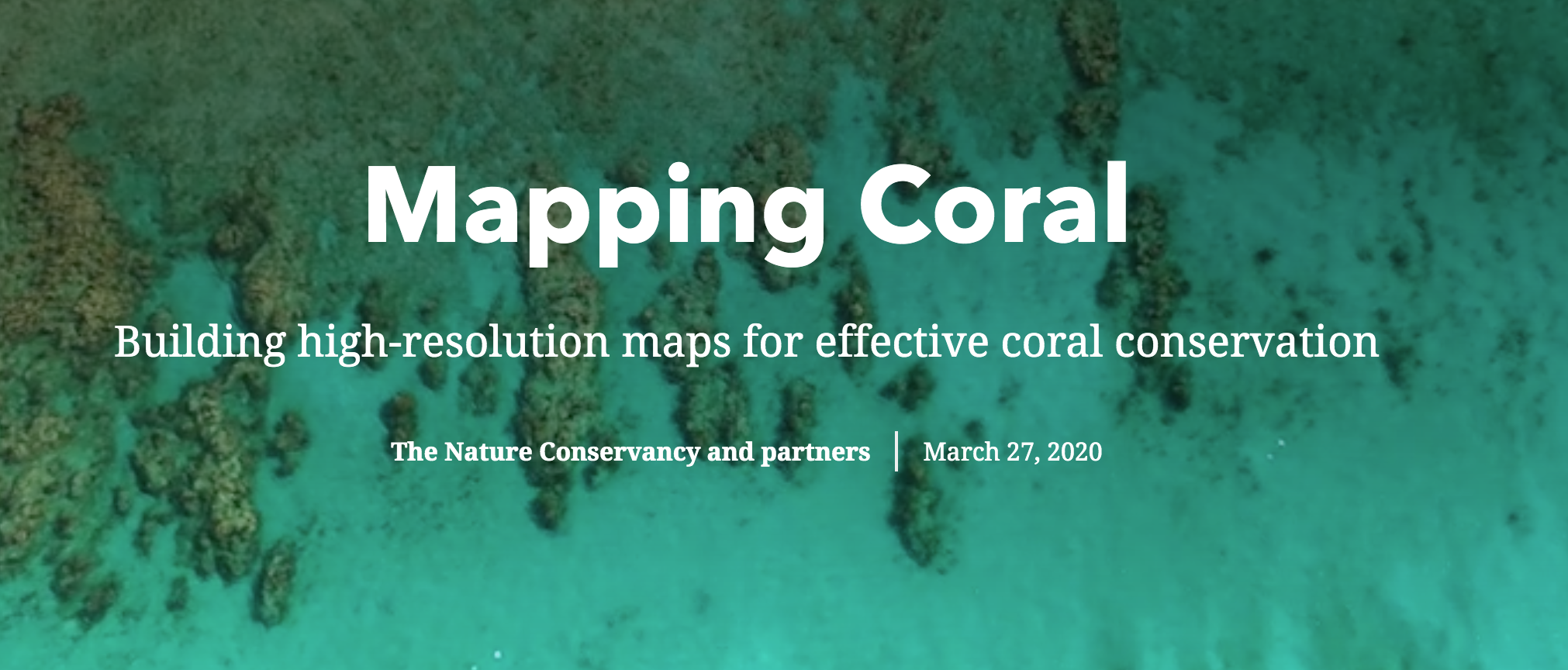 Mapping Coral