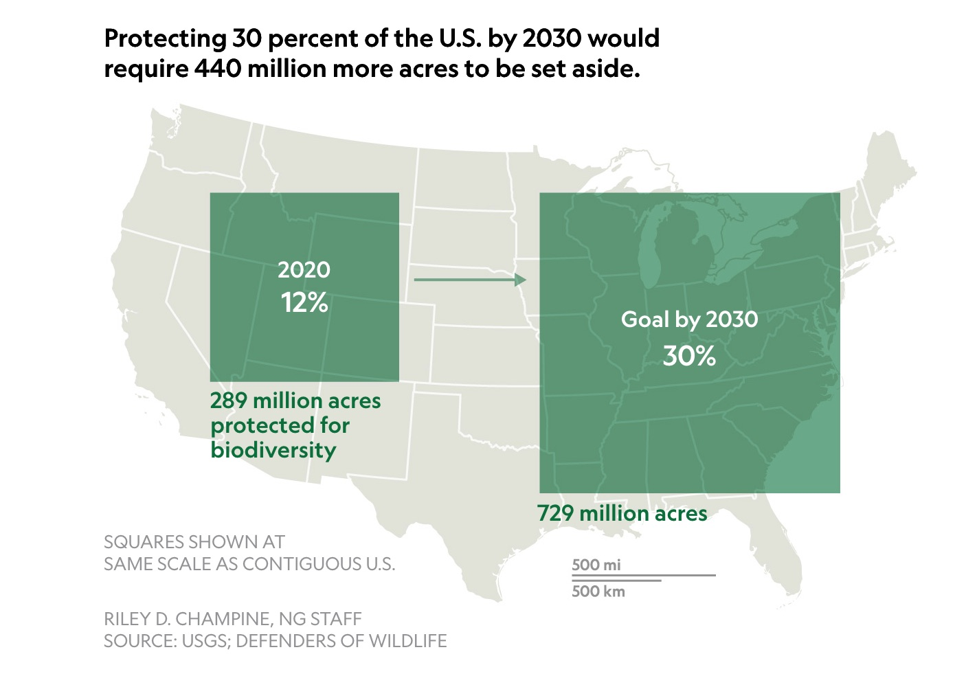 The U.S. commits to tripling its protected lands. Here's how it could be done.