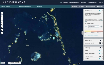 World's first satellite-based monitoring system goes global to help save coral reefs